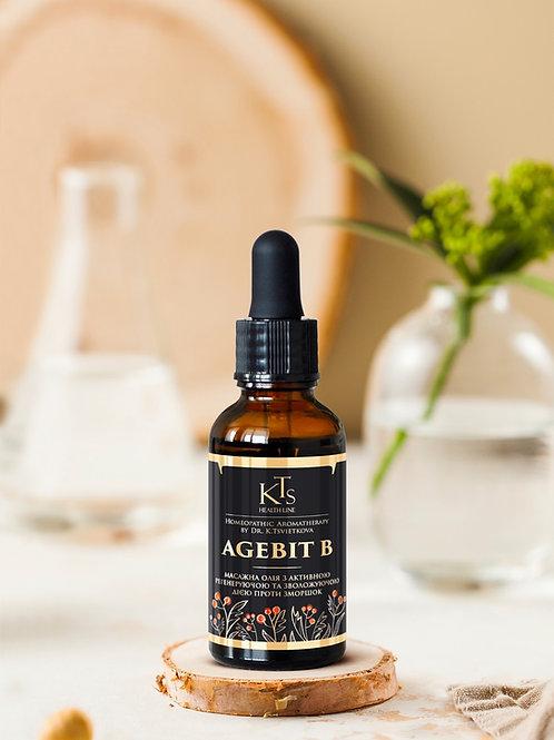 AGEBIT B (ЕЙДЖБІТ Бі)  - косметична олія для обличчя проти зморшок