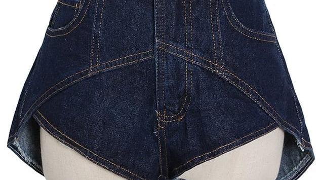 Irregular Cut Shorts