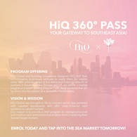 HiQ 360º Pass: Your Gateway To SouthEast Asia
