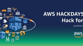 AWS Hackdays 2019 - Hack for Good