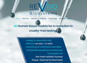 We're live online!! Revivo BioSystems launches it's Cruelty-Free testing capabilities website.