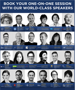 Book one-on-one session with our world-class speakers at CIS 2019