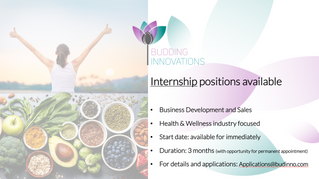 Internship positions available for immediate start