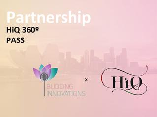 HiQ Global and Budding Innovations partnership