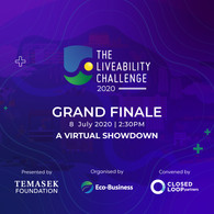Grand Finale of The Liveability Challenge.