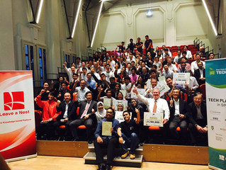 EcoWorth Tech won the Grand Winner Prize during TechPlan Demo Day