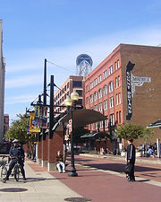 Dallas Downtown Historical District Flat