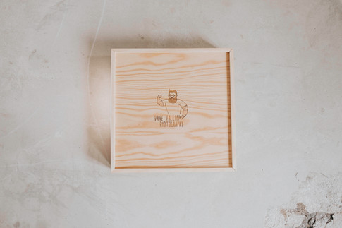 Album box (light wood)
