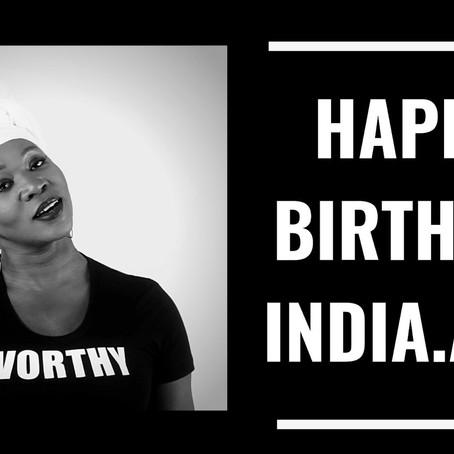 Happy Birthday India.Arie