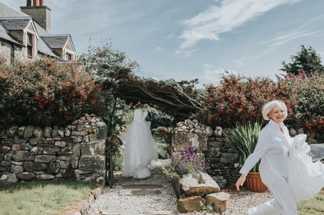 Alternative wedding photography, Scotland