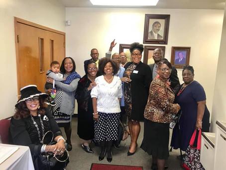 Sunday fun with members of Houston's historic 5th Ward church