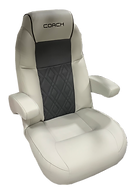 Coach High Back Helm Seat Gray.png