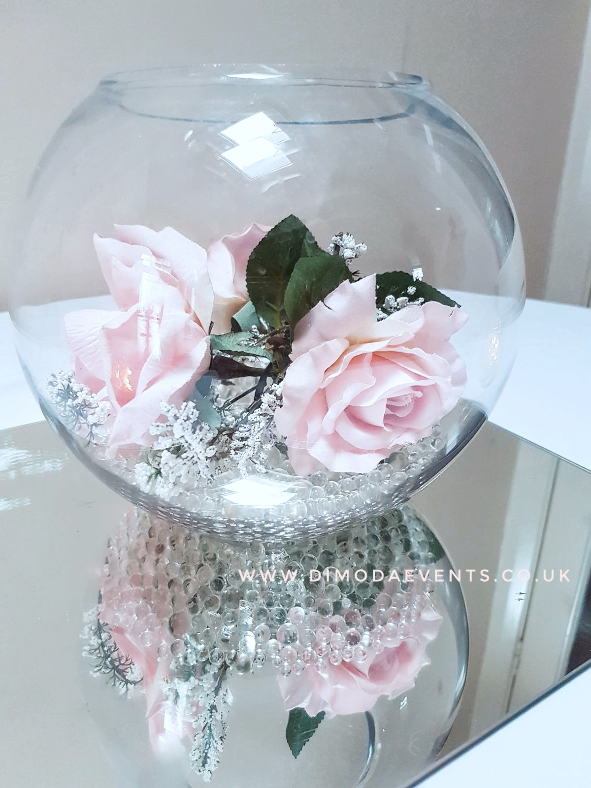 Fishbowl Red Roses