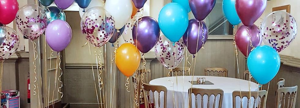 Rainbow balloon Dream Bouquets