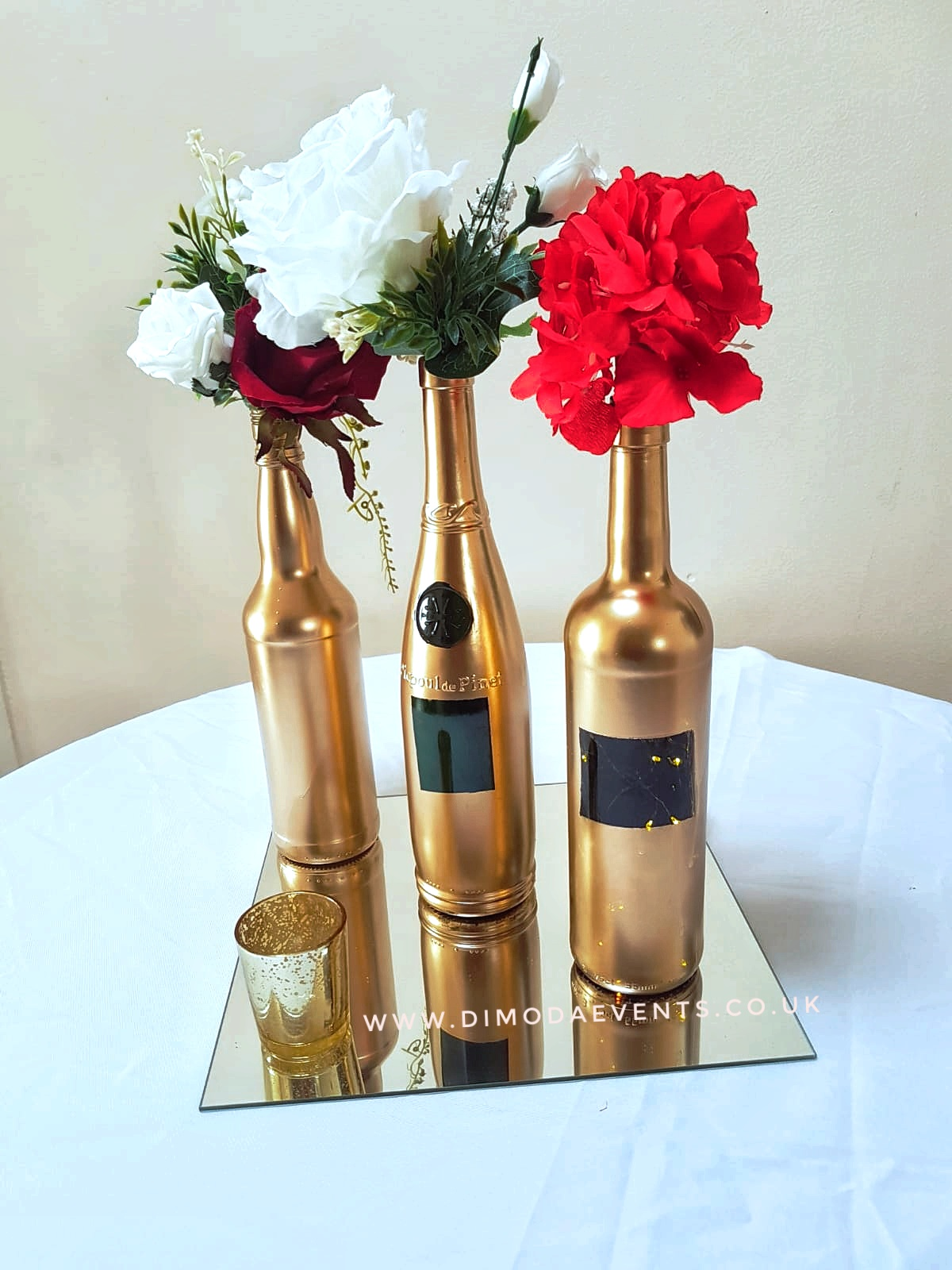 Gatsby Gold Bottle Trio