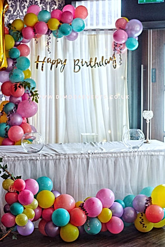 Helium filled Balloons for your party