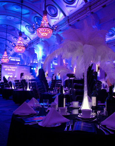 Feather Centrepieces