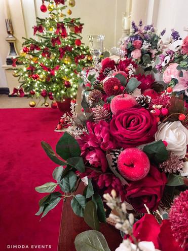 Flower Bouquet Xmas Edition