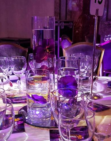 WellChild Awards Table Centrepiece