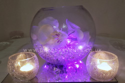Orchid Fishbowl - Purple