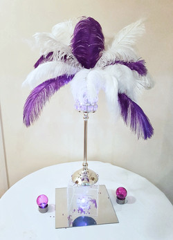 Customised Antique Feather