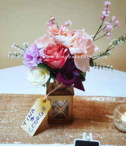 Beautiful Rustic centrepiece