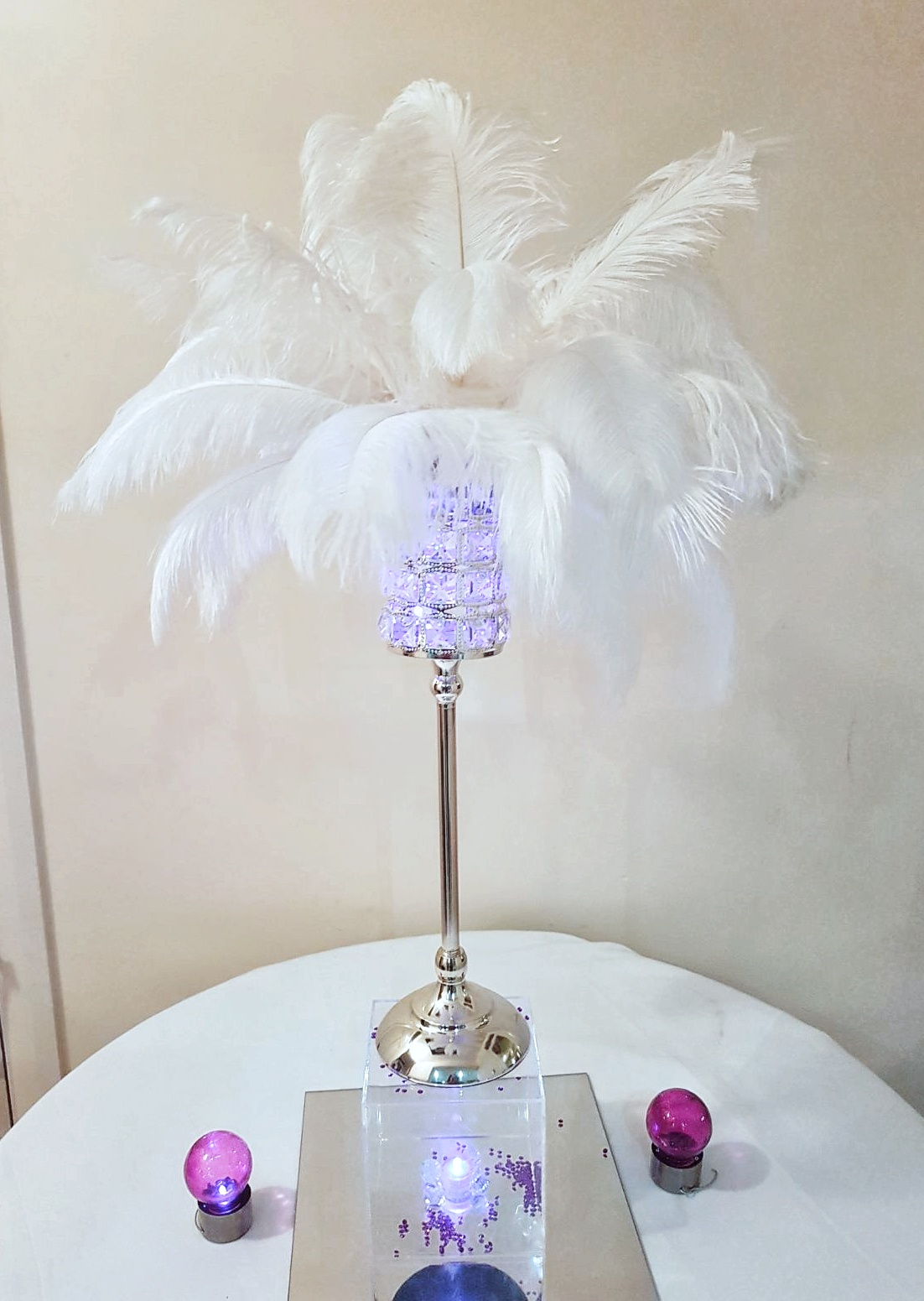 Antique Crystal Gatsby - coloured