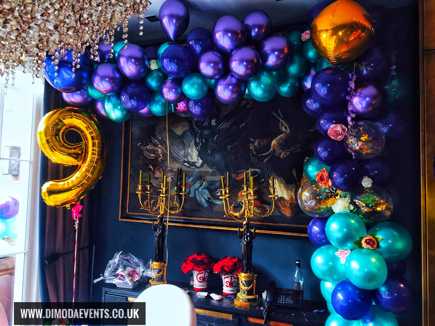Luxury Balloon Garland