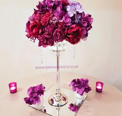 Purple Flower Antique
