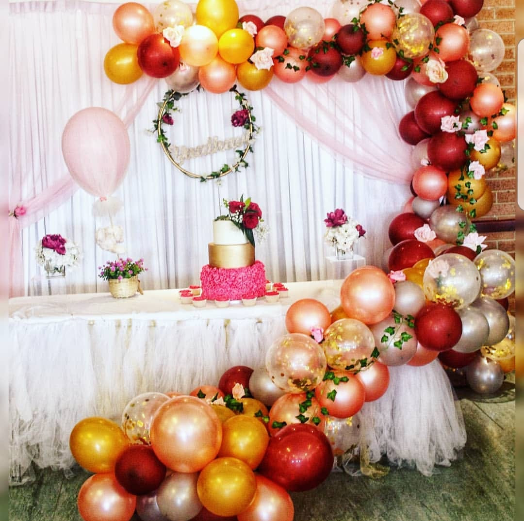 Princess Balloon Garland Package