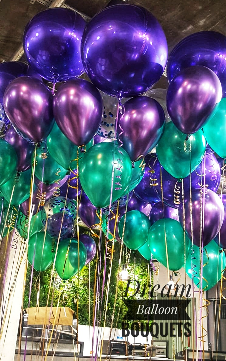 Dream Balloon Bouquets (Mermaid)