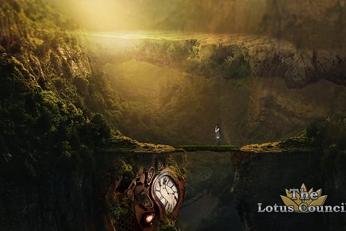 The Lotus Council Playmat - Fantasy Landscape 2