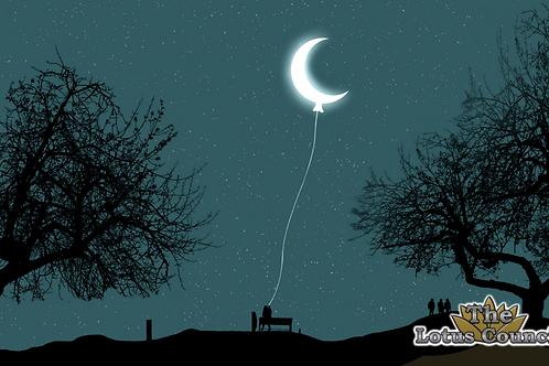 The Lotus Council Playmat - Crescent Moon