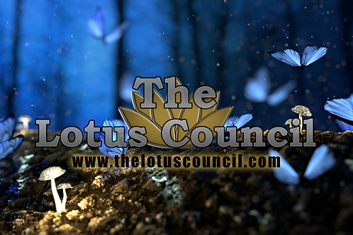 The Lotus Council Playmat - Forest Background