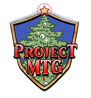 Project MTG Holiday Logo