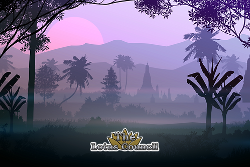 The Lotus Council Playmat - Forest