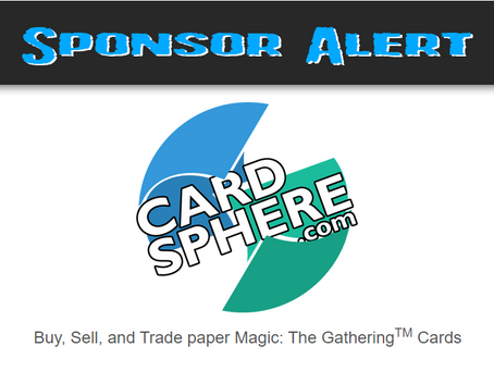 Cardsphere Returns as a Sponsor!