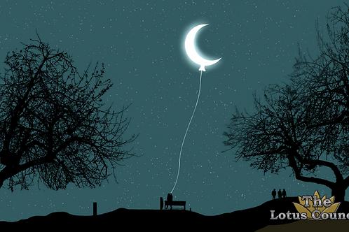 The Lotus Council Playmat - Crescent Moon 2