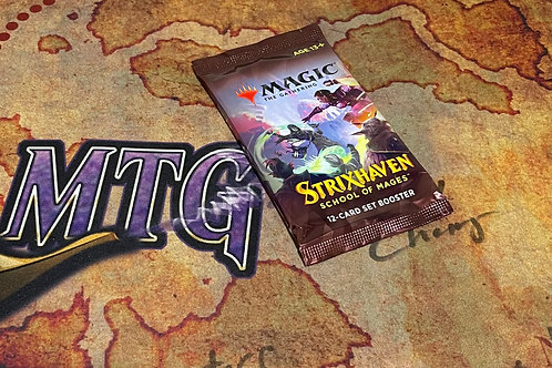 Strixhaven: School of Mages Set Booster Pack