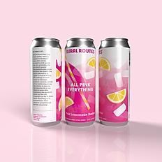 All Pink Everything Pink Lemonade Radler