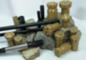 brocas dth, brocas top hammer, accesorios para piloteadoras, accesorios para piloteadores, rotarias soilmec, rotaria casagrande, cabezal de perforacion, osciladores soilmec, martillos diesel delmag