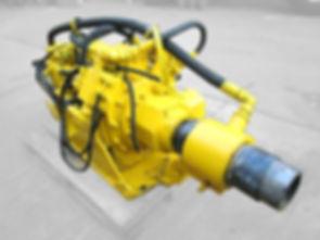 Perforadoras Eurodrill usada, cabezales de perforacion de piloteadores, repuestos de cabezales de perforacion, drilling head used