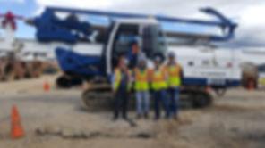 Piloteadora, piloteadora usada, piloteadora nueva, micropiloteadora, brocas tophammer, brocas dth