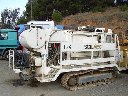 Bomba de concreto soilmec, bomba sobre orugas soilmec colombia