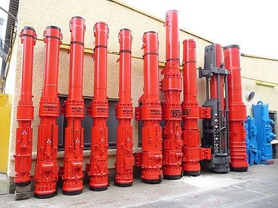 Martillos diesel para hincado, martillos diesel delmag , diesel hammer delmag used.