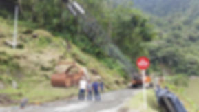 Grua Hitach KH 150, Buenaventura Colombia