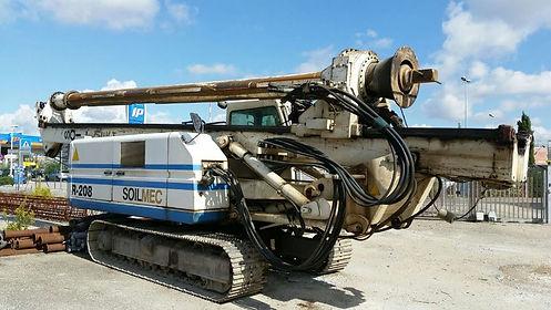 Piloteadora soilmec r 208 usada piloteador soilmec r 208 usado, piloteadores usados, piloteador soilmec colombia
