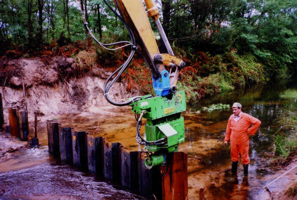 Martillos Vibradores para Excavadora