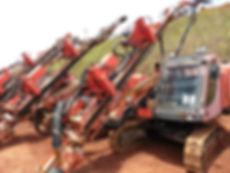 track drill, rock drill, track drill ECM350, track drill atlas copco usado, track drill tamrock