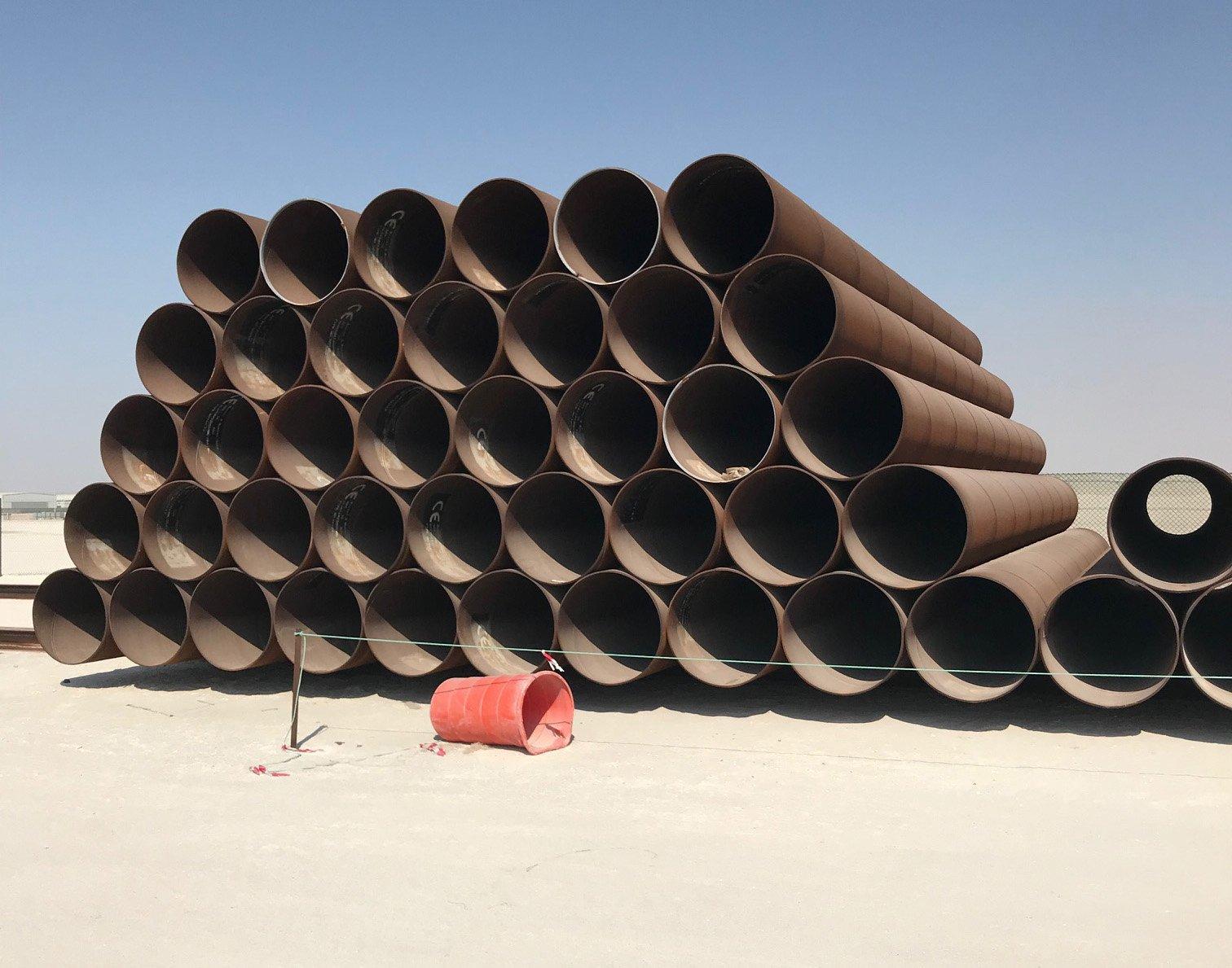Stock de tubos